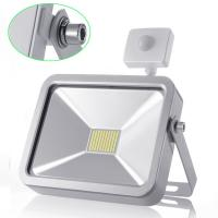 Wholesale 50W Cool White Outdoor LED Flood Lights With PIR Motion Sensor for Garden Lighting from china suppliers