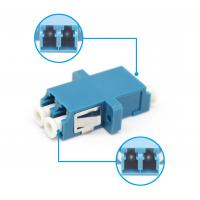 Wholesale LC UPC Duplex Plastic Fiber Optic Adapter Single Mode Multi Mode LC/UPC To LC/UPC from china suppliers