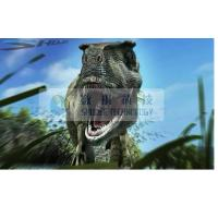 Amazing Dinosaur 6D Cinema Stereo Film With Animation , High Definition
