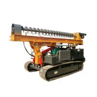 Wholesale Ground Screw Helical Construction Pile Drilling Machine With 4105 Turbocharged Engine from china suppliers