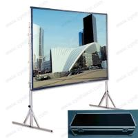 Wholesale Cynthia Portable Fast Fold Projector Screen from china suppliers