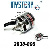 Mystery 800kv outrunner brushless motor rc helicopter for Toy helicopter motor rpm