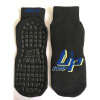 Wholesale China Anti-Bacterial and Breathable Trampoline Socks Indoor Trampoline Cotton Anti-skid Socks for Trampoline Sports from china suppliers