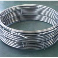 Wholesale Welded Round Stainless Steel Tubing Coil 200 - 1000mm For Beer Drinks Evaporator from china suppliers