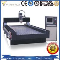 China stone engraving machine TMS1325C for nonmetal and softmetal material. THREECNC on sale
