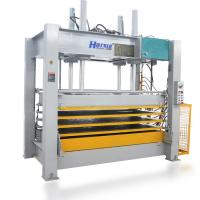 Wholesale HARSLE full automatic  hot press machine plywood production line from china suppliers