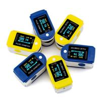 Wholesale Finger Pulse Oximeter With Alarm Handheld Portable Digital Blood Oxygen and Pulse Sensor Meter from china suppliers