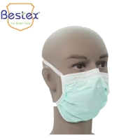 Wholesale Breathable 3 Layer 9.5cm 17.5cm Disposable Face Masks With Tie from china suppliers