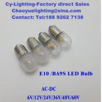 China E10 Screw based LED Warm white Indicator lamps in 24mm long for different equipment lighting on sale