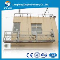 Zlp 800 suspended access platform suspended cradle for Swing stage motors sale