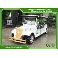 Wholesale EXCAR 8 Passenger Electric Classic Cars 72V Battery Electric Vintage Car from china suppliers