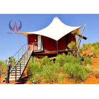 Romnantic Fancy Camping Tents , Semi Permanent Tent Structures 20+ Years Life Span