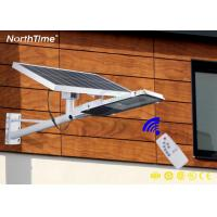 China 25W Aluminum Housing Portable LED Solar Street Lights With Remote Control on sale