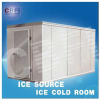 China Concrete Design Moisture Proof Light Cold Room Blast Chiller Freezer With Cement Floor on sale