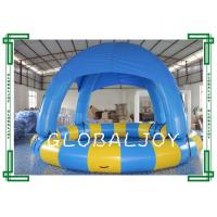 Commercial Inflatable Round Swimming Pool With Cover Roof Pvc Tarpaulin 104617702