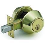 Wholesale Yantai Tri-Circle deadbolt lock D102PB from china suppliers