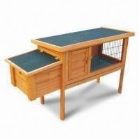 China Rabbit Hutches, Made of Chinese Fir Wood, Dimensions 120 x 45 x 70.2cm on sale