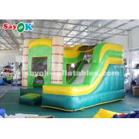 China 4*3.5*3.5m PVC tarpauline Inflatable Bouncer Slide with Blower on sale