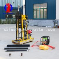 Master machinery provides portable geological exploration drilling rig  hydraulic small portable drilling rig more power for sale