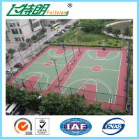 China Acrylic acid Sport Court Surface , basketball court surfaces outdoor Indoor on sale