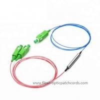 Wholesale 1310/1490/1550 Fiber Optic Coupler Splitter Filter WDM Device SC/APC Connector from china suppliers