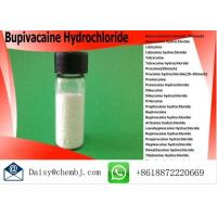 Wholesale Pain Killer Powder Bupivacaine Hydrochloride For Local Anesthetics , Cas No 14252-80-3 from china suppliers