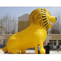 Blower For Inflatable Decorations : Customized large animal inflatable lion with blower for