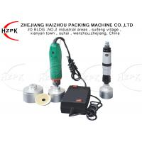 Wholesale Electric / Pneumatic Semi Automatic Capping Machine , Manual Capping Machine from china suppliers
