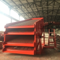 Wholesale 420kgs Vibrating Screening Machine High Frequency for Gold Mining Dressing from china suppliers