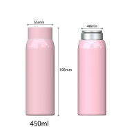 Wholesale BSCI Anti Slip 15 Ounce Stainless Steel Vacuum Flask from china suppliers