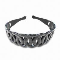 Wholesale Fancy Headband with Teeth, Various Sizes and Colors are Available, Made of Plastic from china suppliers