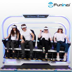 Wholesale Funin VR China supply roller coaster multi 4 seats simulator CE 9d Vr Cinema from china suppliers