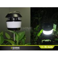 Wholesale White or Black Solar Lawn Decorative Solar Mosquito killer Garden Light Polysilicon 0.55w with ABS from china suppliers
