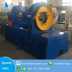 API oilfield hydraulic bucking unit for casing tubing coupling