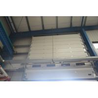 China High Density Sectional Overhead Door Fully Automatic Operation Fire Prevention on sale