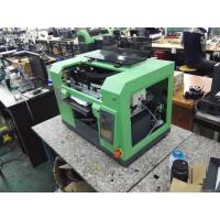 China Flatbed UV Printer with Epson DX7 heads , Flatbed Digital Printing Equipments on sale