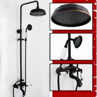 Wholesale New Design Black Bronze Brass Mixer Rainfall Shower Faucet TFB629 from china suppliers