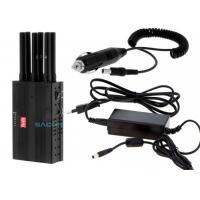 Wholesale Light Weight Handheld Cell Phone Jammer 3 W With 7.4V / 4700mAh Battery from china suppliers