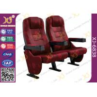 Wholesale Strong Durable 3D Movie Theater Chairs Floor Fixed With Folding Cupholder from china suppliers