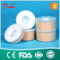 Wholesale Zinc oxide plaster with transparent cover in skin color and white color from china suppliers