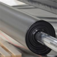 Buy cheap 500micron thickness 7m wide smooth hdpe geomembrane pond liner Indonesia from wholesalers