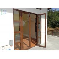 China European Style Aluminium Casement Door Soundproof Outswing Exterior French Door on sale