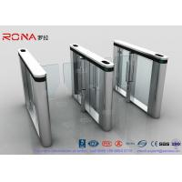Wholesale Automated Pedestrian Barrier Gate , Turnstile Security Systems 304 Stainless Steel from china suppliers