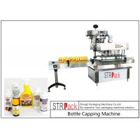 High Speed Spindle Bottle Screw Capping Machine Flexible With 60-150 Bottles / Min