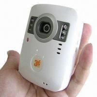 Buy cheap Mini 3G camera, 2-way video call, motion detector, 8 wireless zone, TF card from wholesalers
