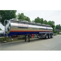 Wholesale 3 Axle 42000 Liters Aluminum Alloy Semi Tanker Trailer Aviation Kerosene Transport from china suppliers