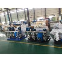 China Frequency Booster Water Pump Supply Equipment water Booster Set, Water Pumping machine, booster pump on sale