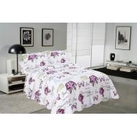Wholesale Rose / Butterfly Cotton House Quilt Covers With Colorful Printed Pattern Styles from china suppliers