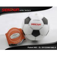 Wholesale Self - Charge 0.6W Portable Inflatable Emergency Lighting System Football shaped from china suppliers