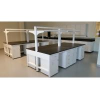 Wholesale C-Frame Chemical Resistant Modular Laboratory Furniture with Hanging Cabinets & Shelf from china suppliers